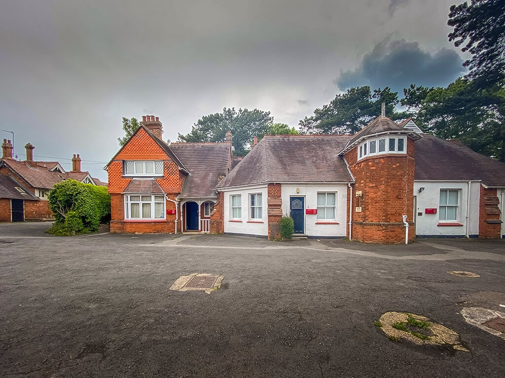 some of the first breakthroughs happened in the cottages in the stableyards of Bletchley Park