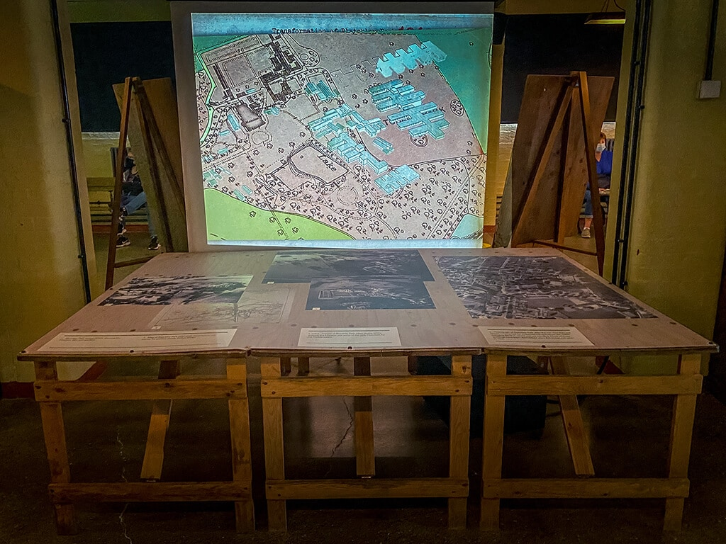 map of how bletchley park developed