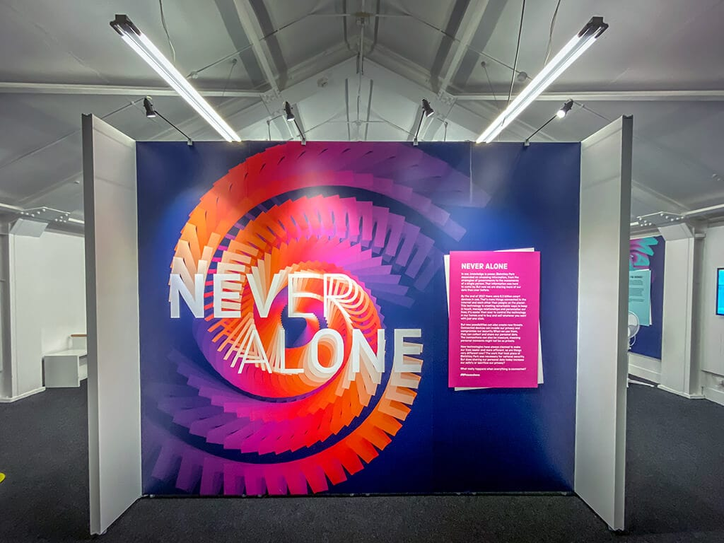 never alone exhibit at bletchley park