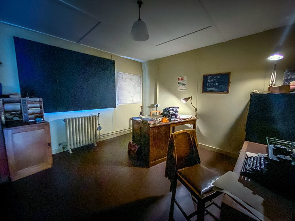 alan turing's office at bletchley park
