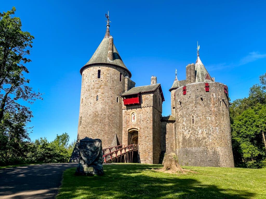 castell coch in wales