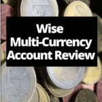"""euros with text """"wise multi-currency account review"""""""